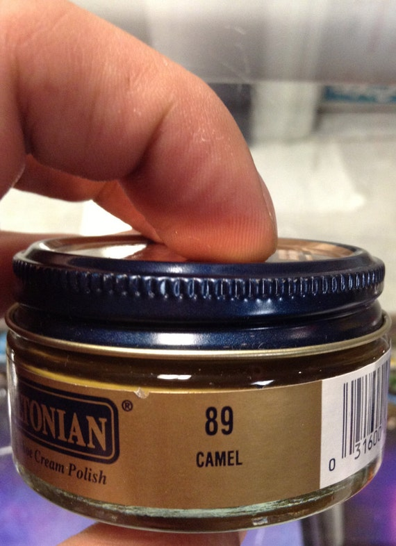 Meltonian Camel Color 89 Boot Shoe Cream Polish Natural Wax Etsy