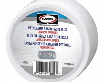 General ALL Purpose Petroleum Based PASTE Flux WS78090 HARRIS formerly worthington formerly lenox 331770