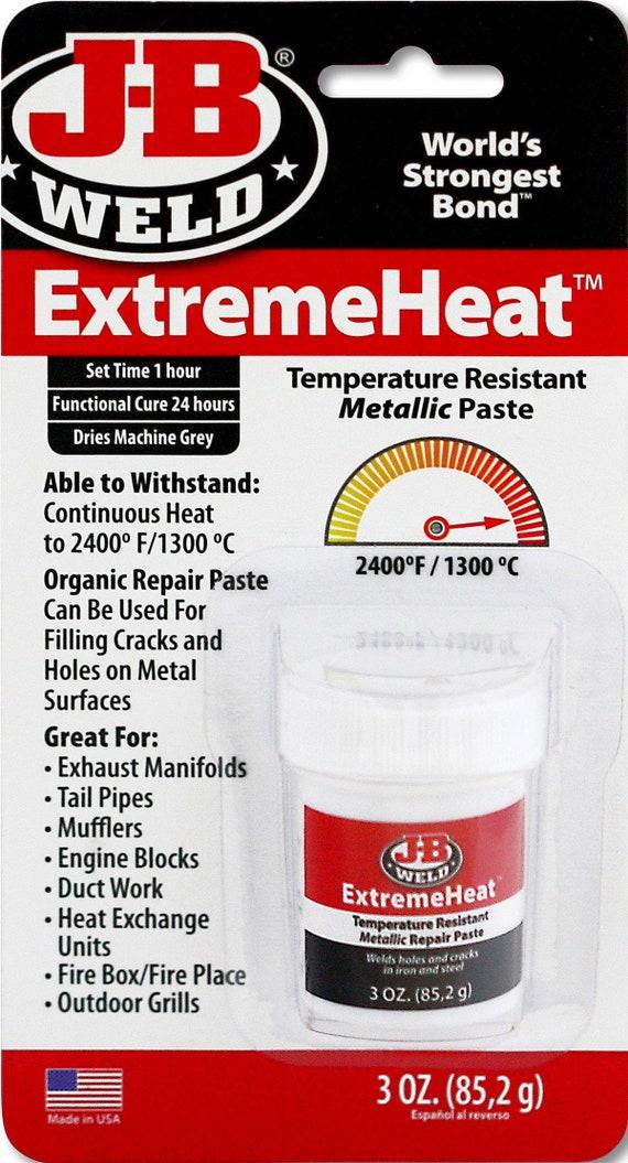 Jb Weld Extremeheat Metallic Repair Paste Extreme High Heat Etsy