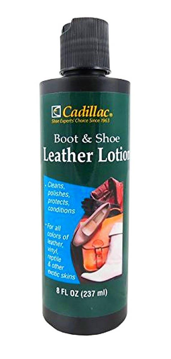 Cadillac LEATHER LOTION Shoe Boot purse