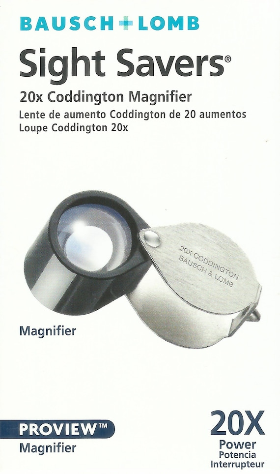 Quality 10x /& 20x Jeweler/'s Loupe Dual lenses Sale Fast shipping /& Tracking !!