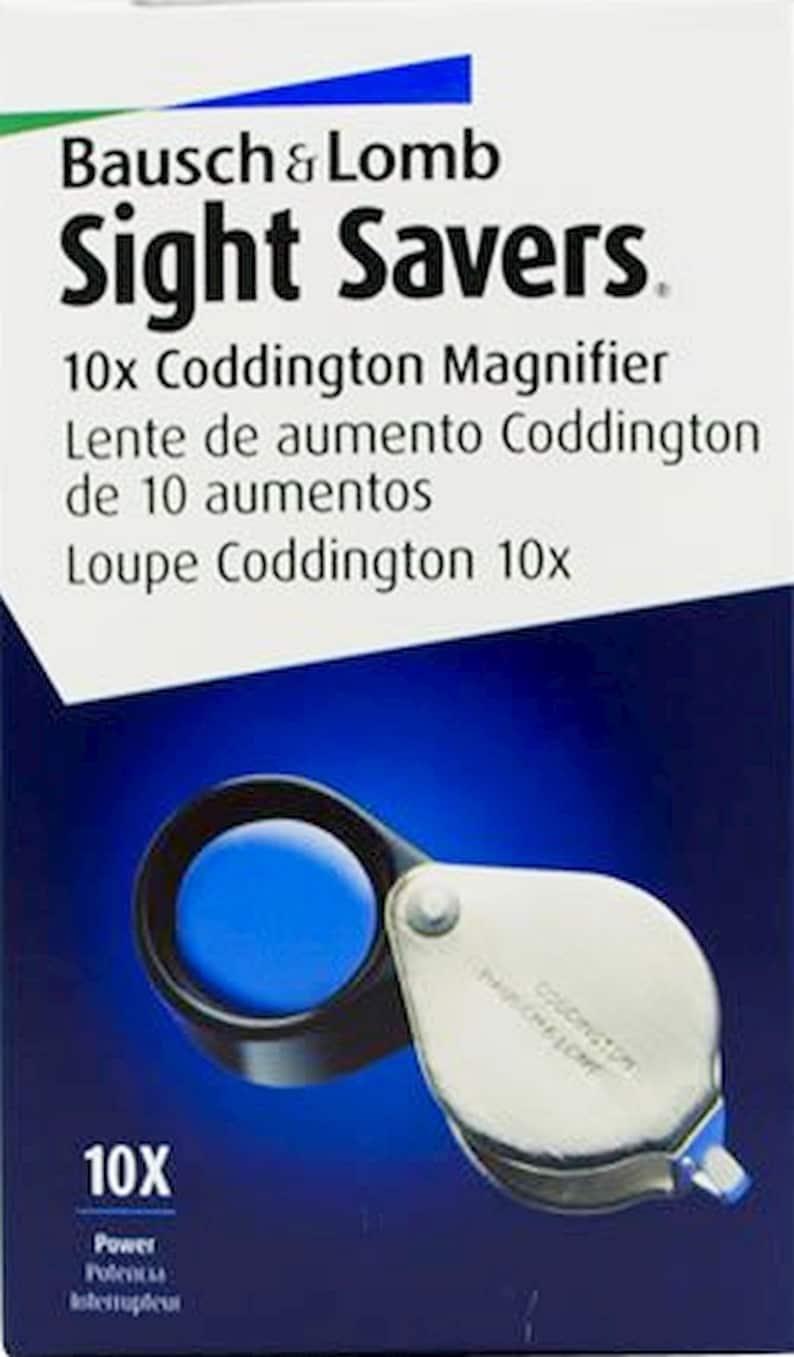 Bausch Lomb New Precision Watchmaker Loupe 10X Lightweight Glass Lens Magnifier