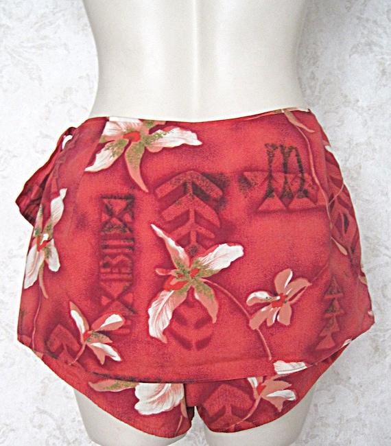 Vintage Hawaiian Bathing Suit Bottoms / '40s '50s… - image 3