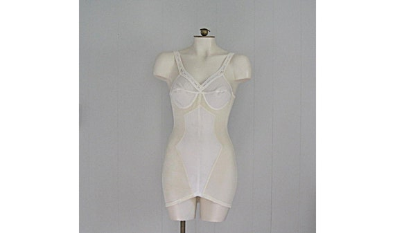 Vintage Warner's 1950s Girdle / 50s 60s Yellow and