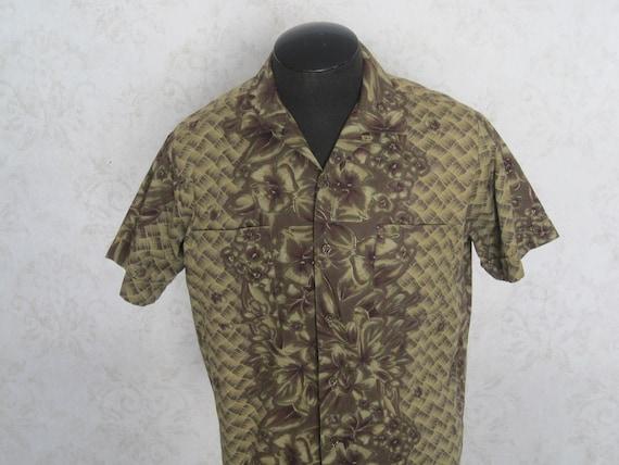 Duke of Hollywood Vintage Hawaiian Shirt / 1950s 1