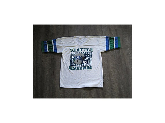 Vintage Seattle Seahawks Jersey / 1980s Official G