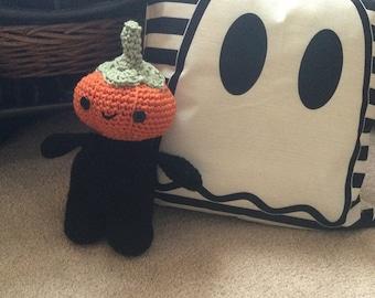 Cutest Pumpkin Head Doll for Fun Halloween - Stuffed Toy Doll Animal for Boy or Girl