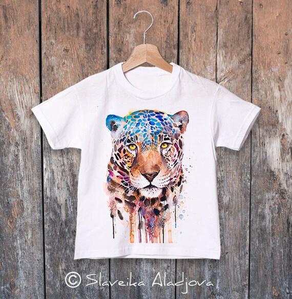 Jaguar T-shirt, Panther kids tee, Boys' T-shirt, Girls' tees, Cute panther tee, Graphic T-Shirt, ring spun Cotton 100%