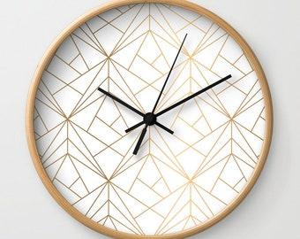 Modern Wall Clock Etsy