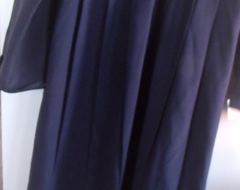 AUTHENTIC  NEW, Handmade by Amish, AMISH Ladies Navy Dress  44 Bust,  34 Waist,   54  Length ,