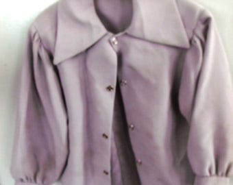"""Sale................AUTHENTIC  NEW Handmade, AMISH Girl Toddlers Gray Satin Blouse , Chest 24"""""""