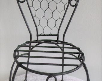 White iron outdoor furniture Spray Painting Vintage Metal Chair New Never Used 34 Metal Chairs Etsy