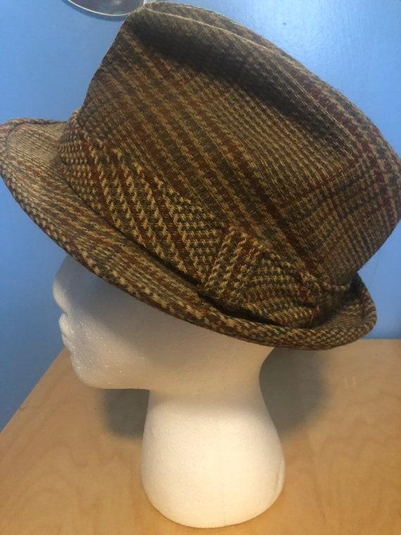 Vintage 1960s Mens Wool hat
