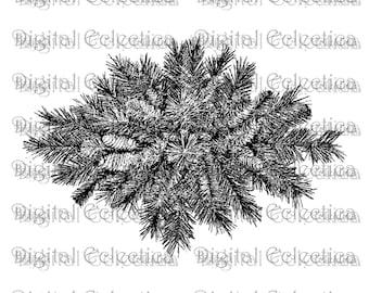 Christmas garland christmas png garland png garland image etsy