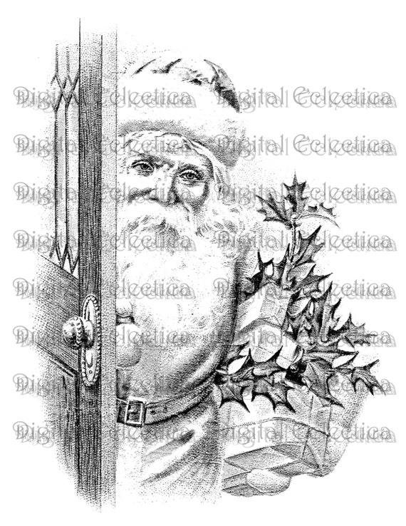 Christmas Holly Berries Scroll Frame - Old Design Shop Blog