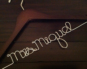 SUPER SALE TODAY!!!!Wedding Hanger/Personalized Wedding Hanger/Bride Hanger/Hanger/Bride/Name Hanger/Wedding Hanger/Custom Hanger.