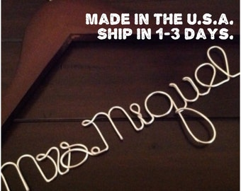 SUPER SALE TODAY!!!Wedding Hanger/Personalized Wedding Hanger/Bride Hanger/Hanger/Bride/Name Hanger/Wedding Hanger/Custom Hanger.