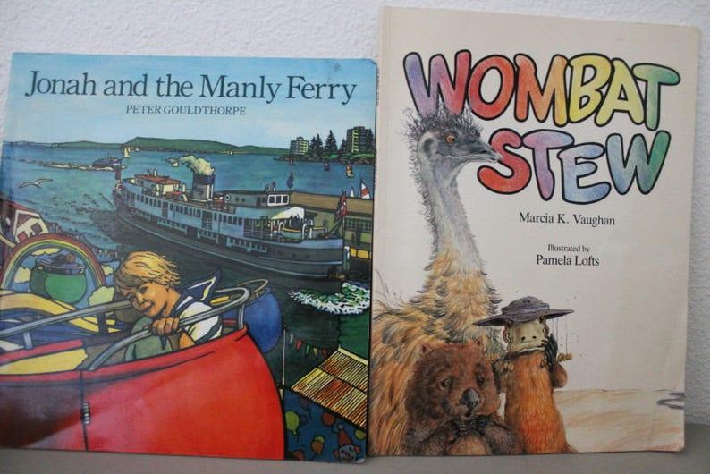 Wombat Stew Book