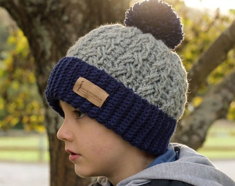 Crochet Pattern Carter Cable Beanie Pattern Etsy