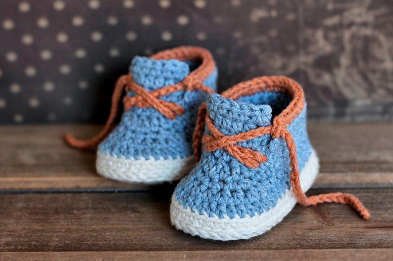e9f7142fffba2 CROCHET PATTERN - Boys Crochet Bootie PATTERN boots for baby boys booties
