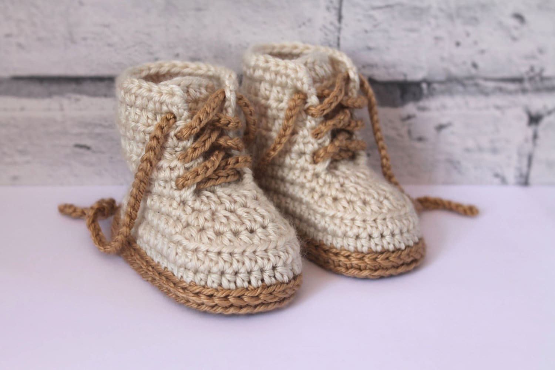 Crochet Pattern Baby Boys Booty Combat Boot Etsy