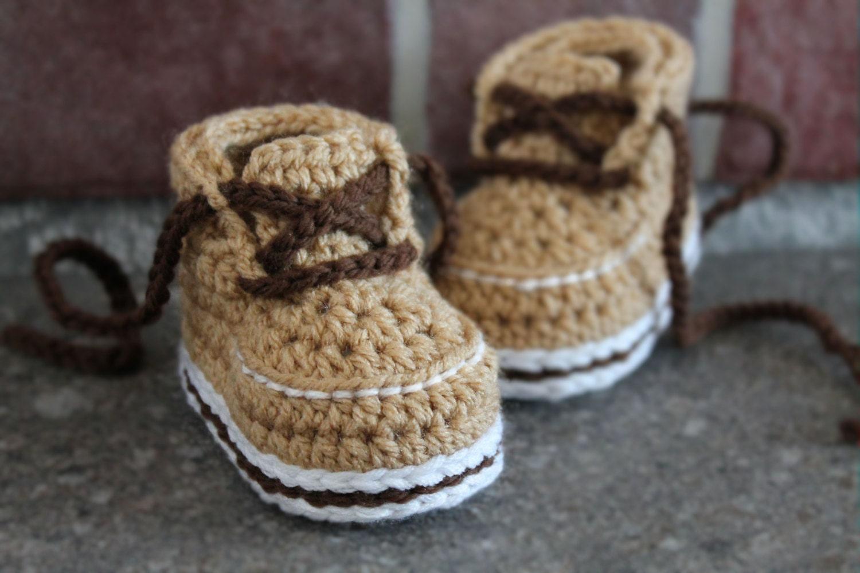 Crochet Pattern Pdf Baby Boys Boots Forrester Boot Etsy