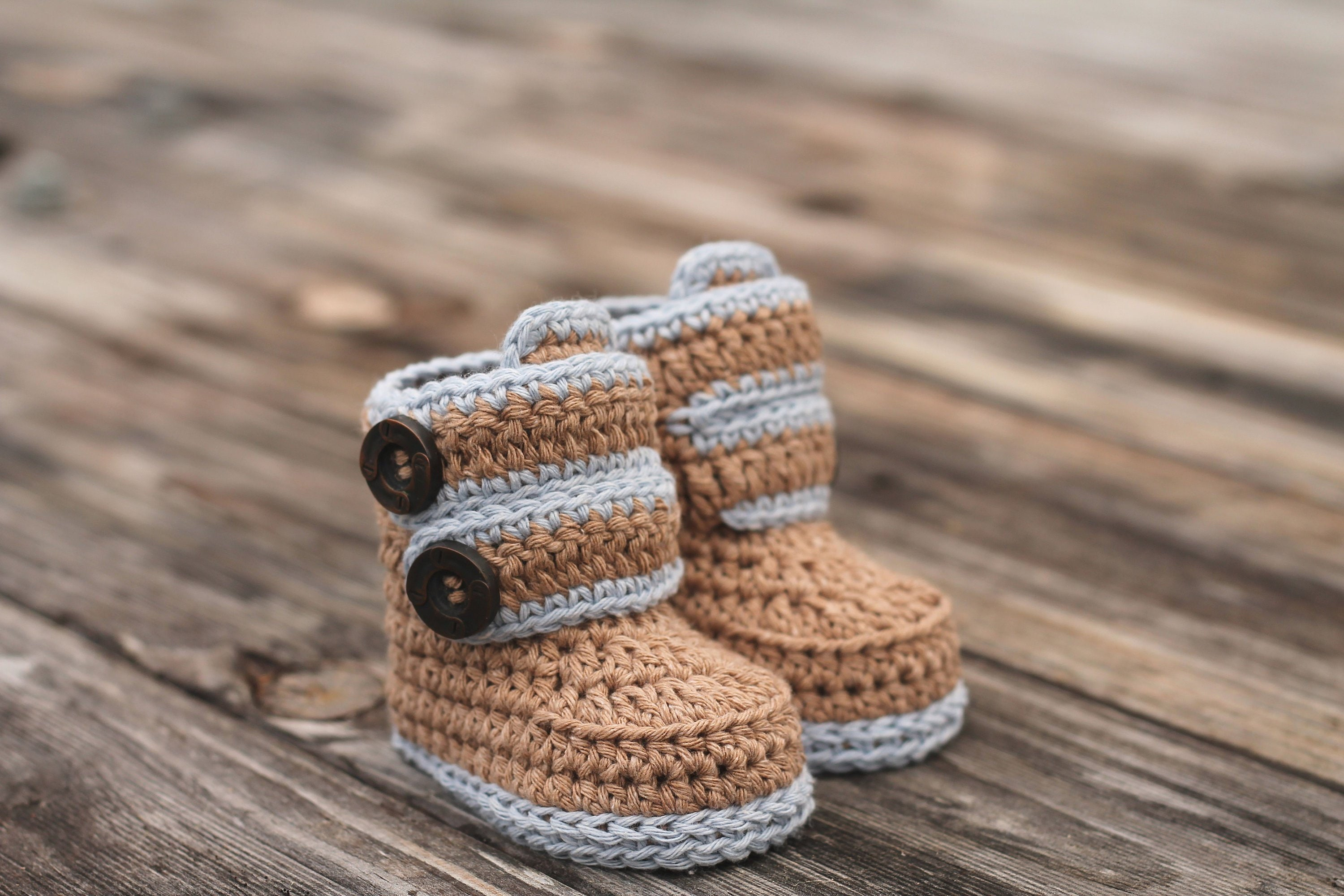 Super CROCHET PATTERN Baby Booties Baby Boy Booties Kohl | Etsy QH28