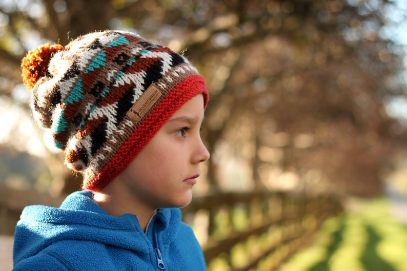 KNITTING PATTERN snowboarding Hat Kobe Slouchy  f1493cad83a