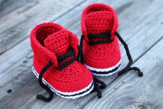 Crochet Pattern Boys Chase Street Boot Cool Etsy
