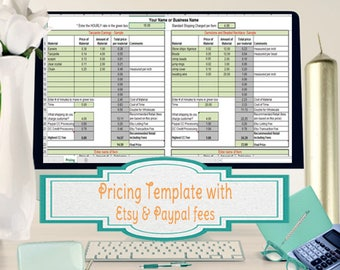 cost of goods sold spreadsheet calculate cogs for handmade etsy