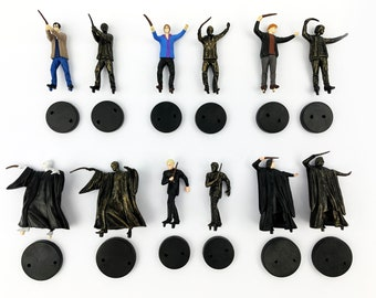 Harry Potter Figurines Set // Rare Miniature Mini Collectables