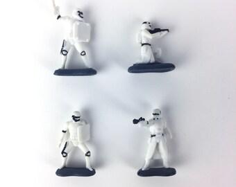 Storm Trooper Star Wars Terrarium Accessory // Figurine // Miniature // The Force Awakens