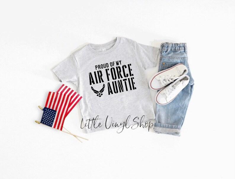 Air Force Gift Air Force Auntie Shirt Air Force Kid Shirt Air Force Wife Shirt Air Force Dad Shirt USAF Air Force Shirt