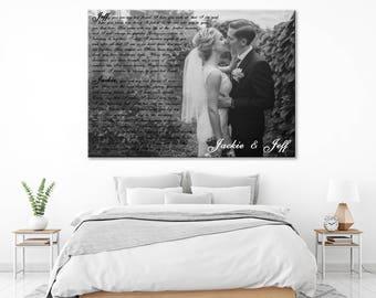 Gift for him, gift for men, gift for husband, gift for partner, mens gift, birthday gift for him, anniversary gift for him, canvas print