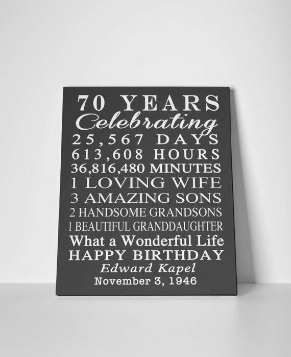 70 Year Wedding Anniversary Gifts: 70th Anniversary Gift For Parents 70th Wedding Anniversary