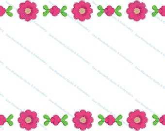 Indiana Rose Embroidered Label Customized for Quilts or other Quilted Projects