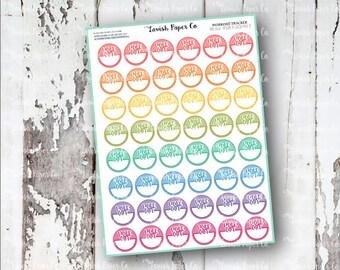 Workout Tracker Planner Sticker, health stickers, workout Sticker, exercise, healthy, health, fitness