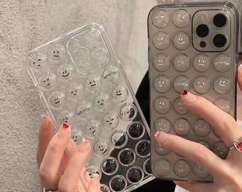 iPhone 13/ 13pro /13 pro Max Phone Case - Airbag Stress Press Bubbles Fidget Emotion Icon Preorder