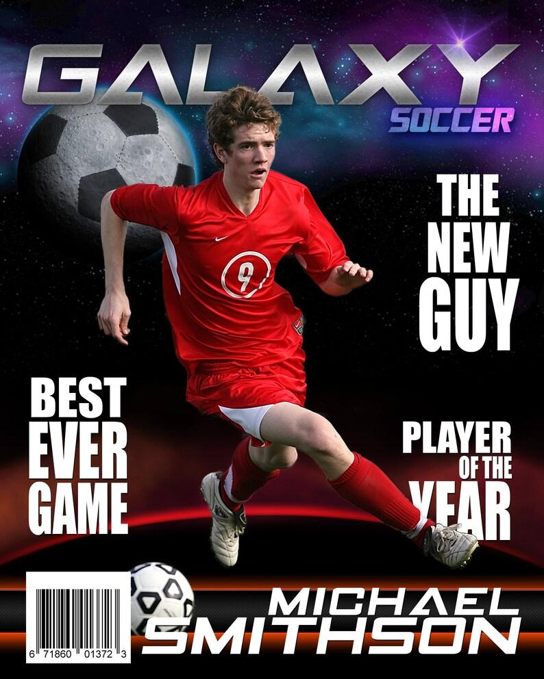 Soccer Galaxy Custom Templates