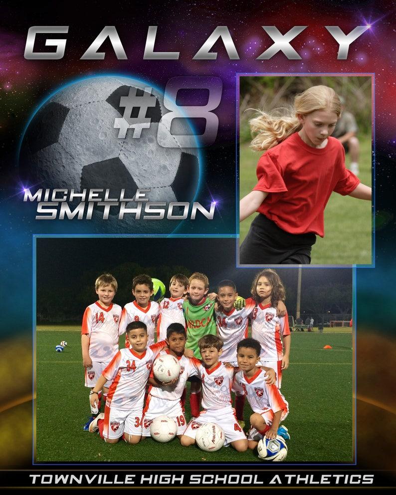 Soccer Galaxy Memory Mates