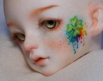 BJD FACE UP commissions, Custom face-up, ooak bjd make-up