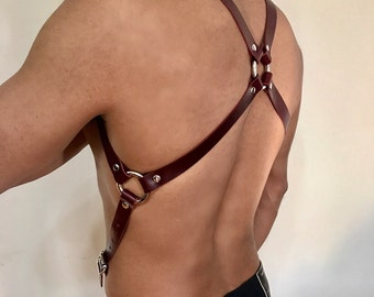 "3/4"" X-Back Harness Suspenders"