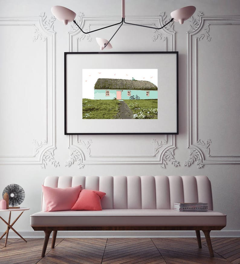 Thatched Cottage Print image 0
