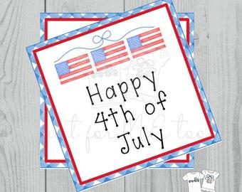 Patriotic Digital Tag