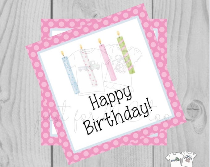 Featured listing image: Happy Birthday Digital Tags, Printable Party Tags, Birthday Printable, Happiness Tags, Birthday Tags, Gift Tags, Party Tags, Girl Birthday