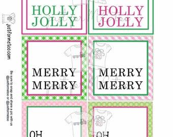 Christmas Digital Tags