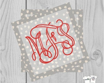 Personalized Christmas Gift Tag, Personalized Tag, Animal Print Gift Tag, Christmas Tag, Personalize, Monogram Christmas Tag