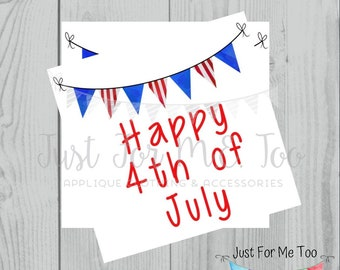 Instant Download Printable 4th of July Tag, Flag Tag, July 4th Printable, July Banner, Friend, Gift, Party Favor, Sparklers