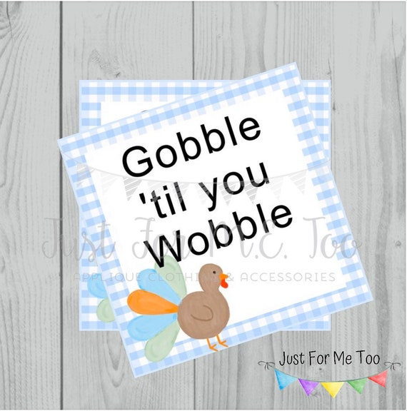 Thanksgiving Printable Tags, Instant Download, Fall Tags, Turkey Gift Tags, Birthday, Lunchbox Notes, Thanksgiving,  Printables, Boys