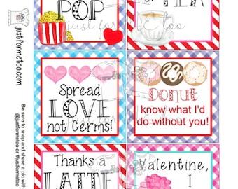 Valentine's Digital Tags